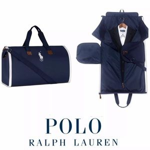 Polo Duffle Bag Garment Weekender Holdall Travel